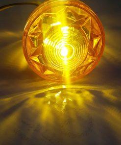 لامپ های لاسوگاسی مخروطی نارنجی 2 وات