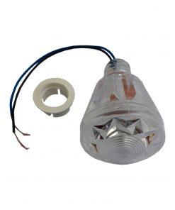 لامپ لاسوگاسی مخروطی سفید 2 وات