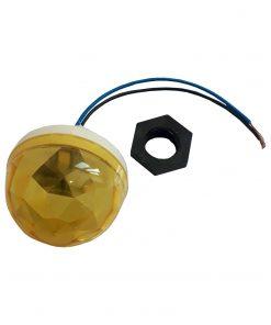 لامپ لاسوگاسی منشوری زرد 1 وات