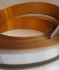 چلنیوم 9 سانت طلایی براق آینه ای