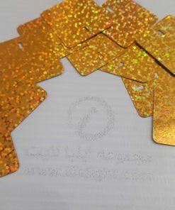 تایل پولکی طلایی نقره ای اکلیلی