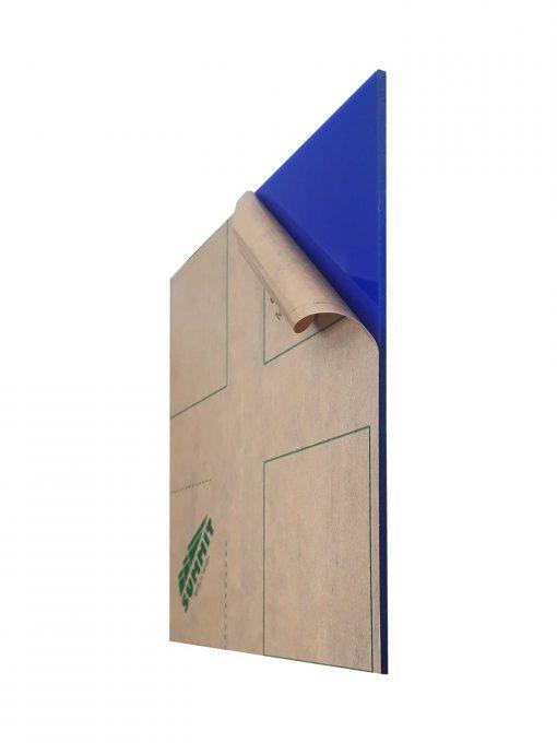 ورق پلکسی آبی 2.8 میل SUMMIT