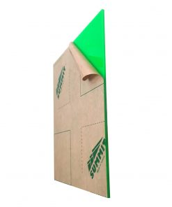 ورق پلکسی سبز 2.8 میل SUMMIT
