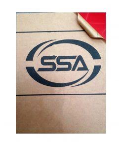ورق پلکسی قرمز 2.8 میل SSA