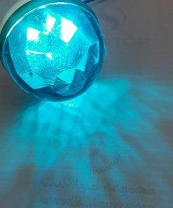 لامپ لاسوگاسی منشوری آبی