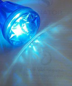 لامپ لاسوگاسی مخروطی آبی